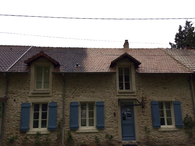 D moussage toiture val d 39 oise yvelines pierrelaye for Demoussage toiture